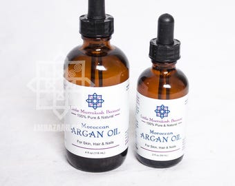 Organic Argan OIL  100% pure /Argania Spinosa/The Liquid Gold from Morocco