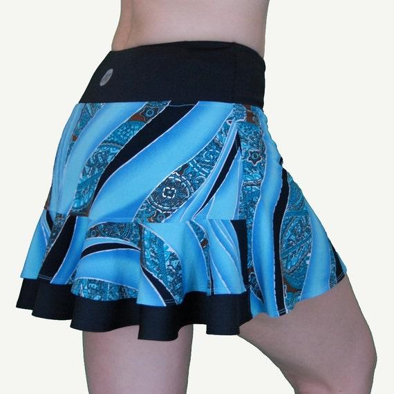 blue running skirtrunning costumetennis skirtgolf skirt