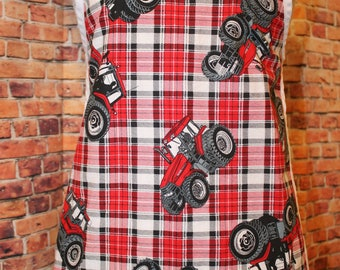 Children's Size Tractor theme Apron