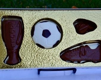Chocolate Soccer Gift , Soccer Coach, Soccer Team, Soccer player, Soccer Tournament, Soccer