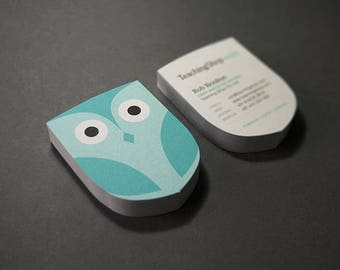 Custom Die Cut Business Cards Printing