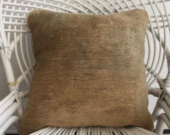 sofá del bordado caso almohadilla cuadrada PUF lanza almohada Bohemia 18 x 18 almohada cubierta amortiguador cubiertas Turco cojines tejidos a mano 1144