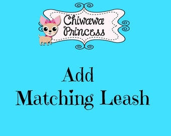 Matching Leash