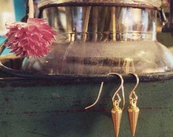 Mini Spear Earrings