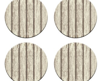A pack of 4 cream vintage wooden panels design Pattern weights Ideal for weighing down patterns on delicate fabrics no need for pins