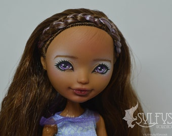 Custom OOAK Monster High Doll Ever After High Doll Cidar Wood