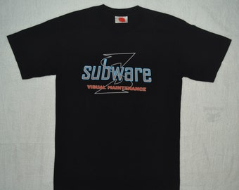 SUBWARE Clothing T Shirt Brooklyn NY NYC Size M medium street wear futura recon street art