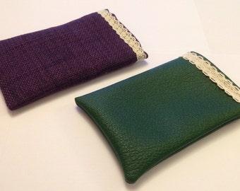 Fabric phone sleeves