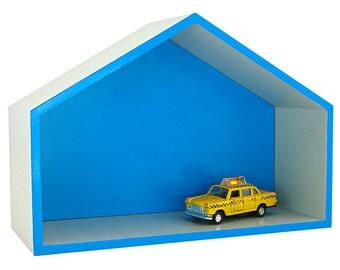 Shelf Blue House