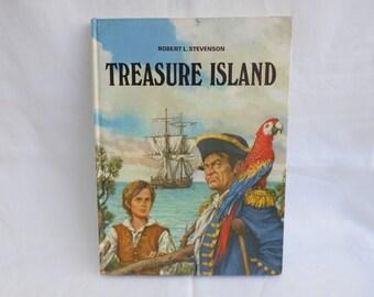 "Vintage Childrens Book ""Treasure Island"" By Robert L Stevenson"