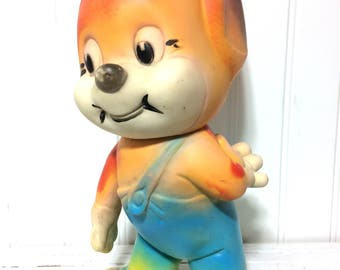 Vintage Large Tom and Gerry Squeaky Toy