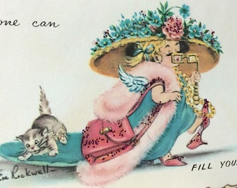 Vintage Get Well Cards by Eve Rockwell