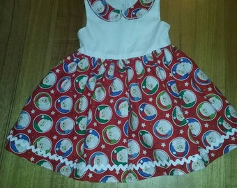 Bright and Bubbly Christmas Dress