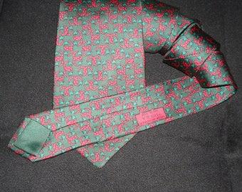 Hermes Silk Tie 7303 EA Made in France HERMES