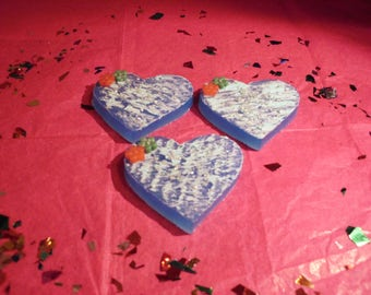 Blue Heart Sugar Cookie Soaps