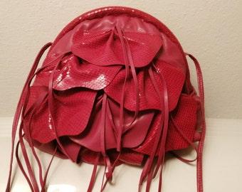 Bag Vintage, tassel clutch, shoulder bag