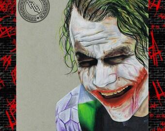 Heath Ledger Joker - The Dark Knight