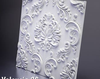 Polyurethane Forms for 3D Wall Panels