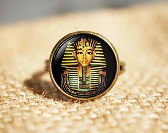 Egyptian pharaoh Rings,Ancient egypt jewelry, Egypt Rings, Tutankhamen Rings, Historical Rings