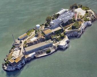 Alcatraz Prison Areal Photo