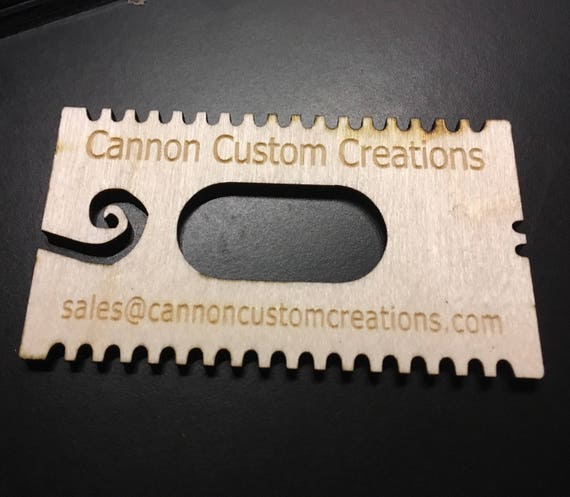 Inscribed Laser Cut Headphone Wrap