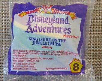 Vintage McDonalds Lion king On jungle Cruise Sealed Toy