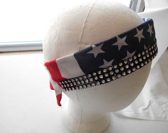 Polyester bandana head band MMBC05