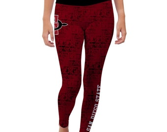San Diego State Aztecs Yoga Pants Designs