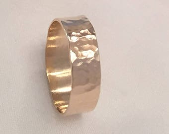 14K Gold Filled Band Ring