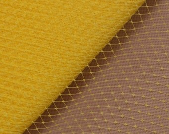 "9"" birdcage veil, yellow French veil, millinery veil, veiling, millinery supplies, netting"