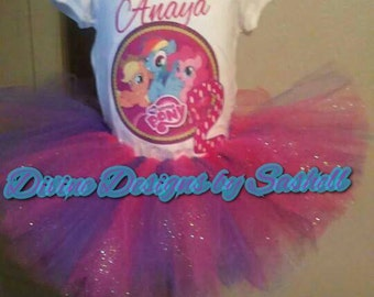 My Little Pony Inspired Tutu Set