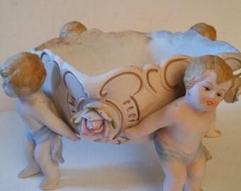 Reduced Cherub porcelain bowl