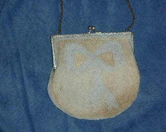 Antique Beaded Coin Purse