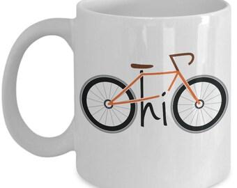 Orange Bike Ohio Mug