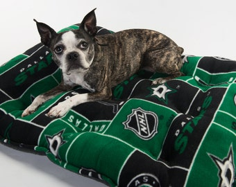 Dallas Stars dog bed, Dallas Stars pet bed, Dallas Stars bedding