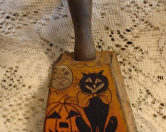 Vintage Halloween Noisemaker Bell Shaped Antique noise maker toy