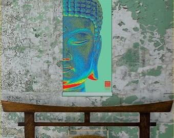 Buddha Room Decor - Kakémono scrolling poster SLCK-019
