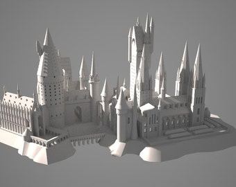 3D printed Hogwarts