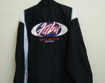 Rare Vintage FUBU The Collection SPORTS SERIES Windbreaker Size L Large