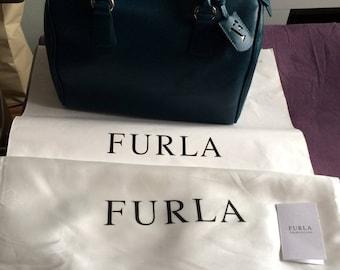 """FURLA"""" - bag, so good as new, petrolcolour, shopper, business"""