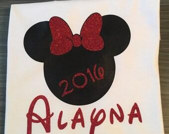 Minnie Mouse Custom T-shirt
