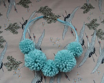 Icelandic collection Pom Pom necklace