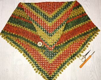 Crocheted Scarf/Shawl
