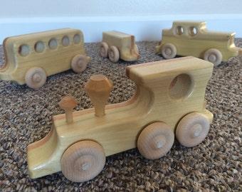 "Wooden Train Set ""Linda"""