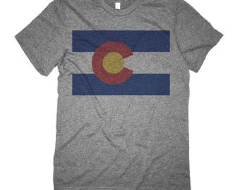 Retro Colorado Shirt - Colorado State Flag Shirt