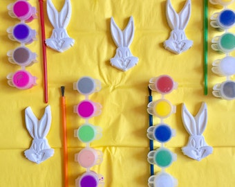 Bugs Bunny party favors .Looney Tunes  party favors . Bunny party favors . Rabbit party  favors class,school ,birthday ,boys , girls. Compl