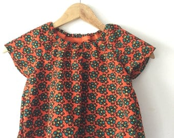 Baby girl peasant blouse