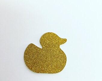 25 Glitter Rubber Ducks  , cardmaking , scrapbooks , cards , embellishments