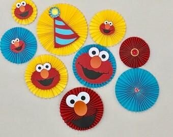 Elmo Rosette Package