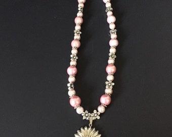 Elegant Pink necklace
